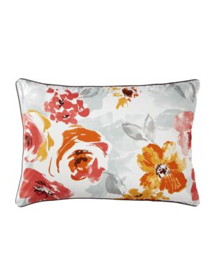 Set of Two Delices Floral-Print Standard Pillowcases
