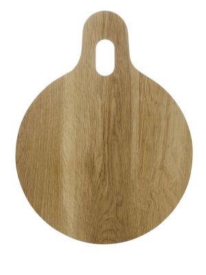 Oval Oak Cutting Board