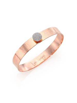 PHILLIPS HOUSE Affair Infinity Love Always Diamond & 14K Rose Gold Bangle Bracelet