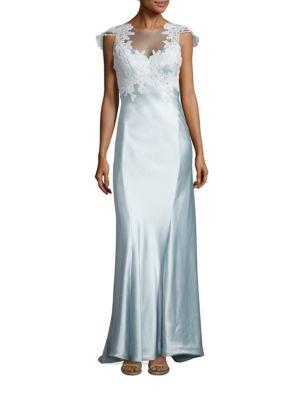 Grace Satin Gown