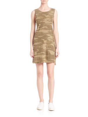 Camo Muscle Tee Dress