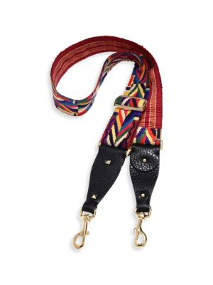 Native Couture Embroidered Guitar Handbag Strap