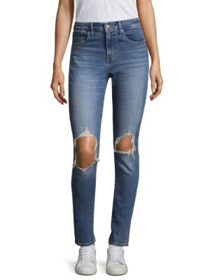 721 High Rise Ripped Skinny Jeans