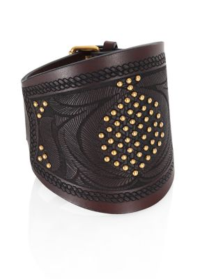 Primitive Leather Bracelet