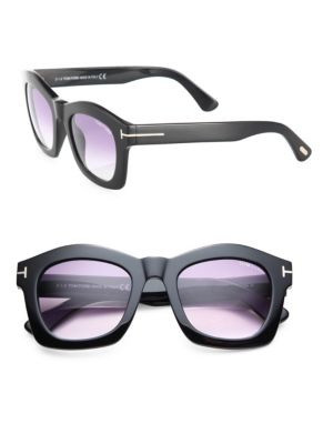 Greta 50MM Geometric Square Sunglasses