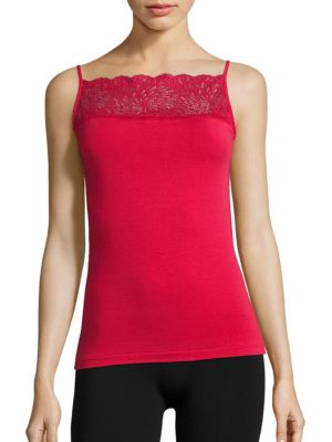 Lace Inset Camisole by Wolford