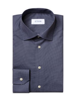 Slim Fit Signature Polka Dot Dress Shirt