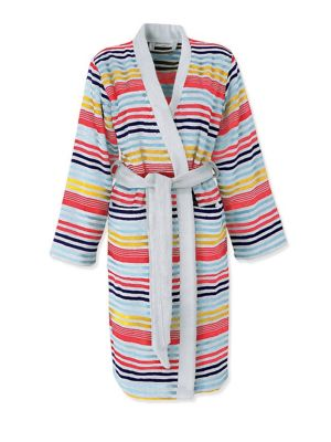 Rue De Seine Striped Bath Robe