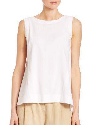 Justine Linen-Blend Blouse plus size,  plus size fashion plus size appare