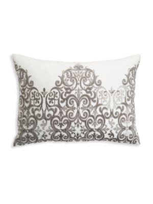 Tivoli Embroidered Rectangular Pillow