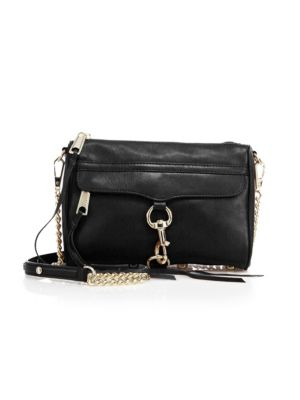 Mini MAC Leather Crossbody Bag