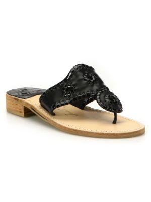 Palm Beach Leather Thong Sandals