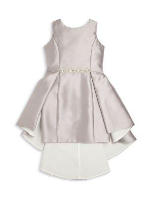Toddler's, Little Girl's & Girl's Platinum Shift Dress