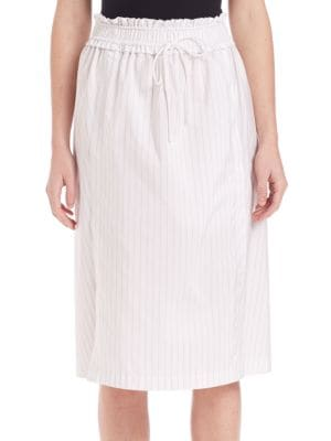 Striped Hoosier Skirt