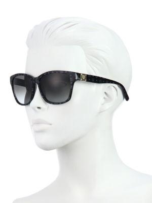 Mcm Visettos 59Mm Square Logo Sunglasses, Na