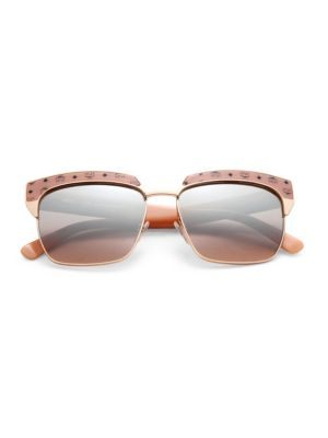 Visetos 56MM Rectangle Sunglasses