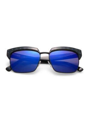 Visetos 56MM Rectangle Sunglasses