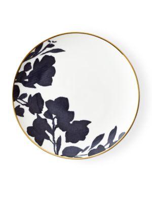 Audrey Porcelain 24K Gold Trimmed Bread & Butter Plate