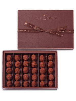 30-Piece Dark Chocolate Truffles Collection