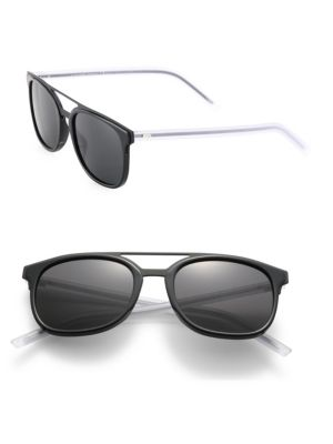 Black Tie 22 53MM Round Panto Sunglasses