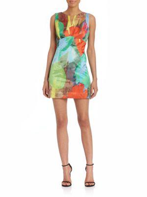 Sleeveless Sheath Silk Dress