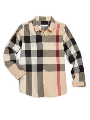 Little Boy's & Boy's Camber Check Shirt