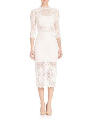 Miller Long Lace Dress