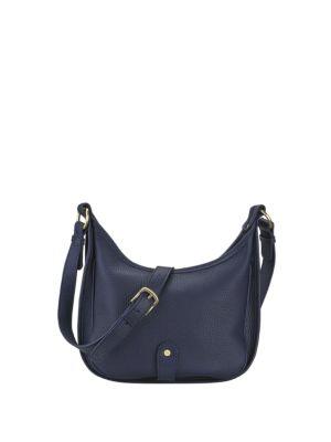 Casey Pebble Grain Leather Crossbody Bag