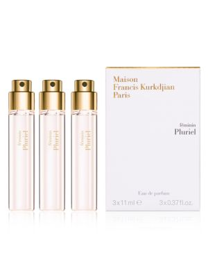 féminin Pluriel Eau de parfum Refill Set/3 x 0.37 oz.
