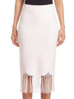 Fitted High Waist Skirt plus size,  plus size fashion plus size appare