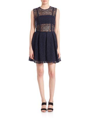 Star Open Side Mini Dress