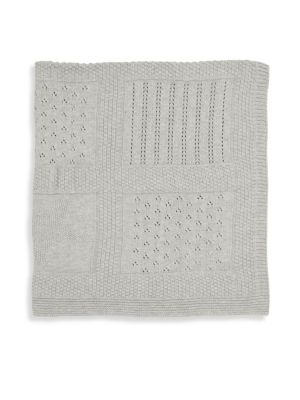 Seed Knit Textured Blanket