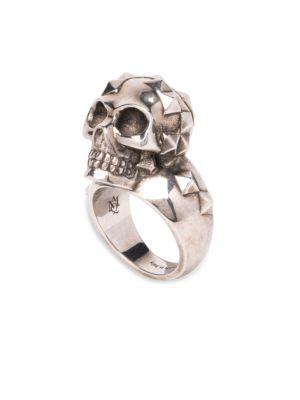 Studded Skull Ring