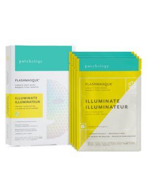 4-Pack Illuminating FlashMasque Facial Sheets