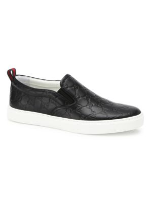 Dublin Guccissima Leather Sneakers