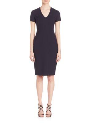 Double Stretch-Wool Dress
