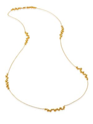 Mini Atomo Long 18K Gold Necklace