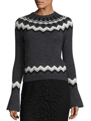Fair Isle Knit Sweater
