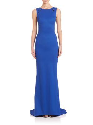 Sleeveless Bondage Jersey Gown