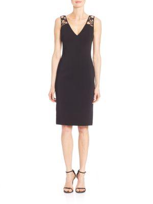Lattice Back Dress