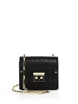 Anais Mini Leather Shoulder Bag