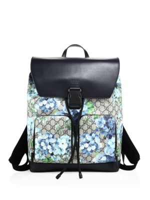 gucci male 201920 printed backpack