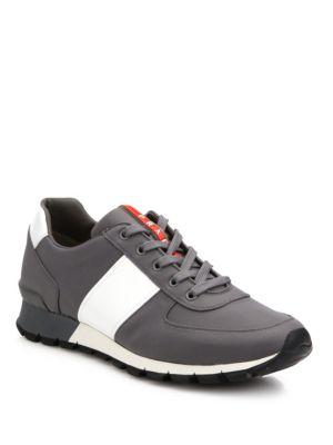 Spazzolato Trainer Sneakers