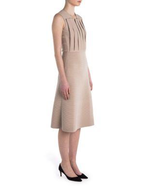 Rochie midi GIORGIO ARMANI, fashion, plisată, fără mâneci