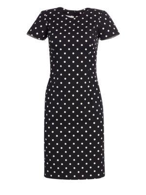 Icon Collection Polka Dot Cotton Dress