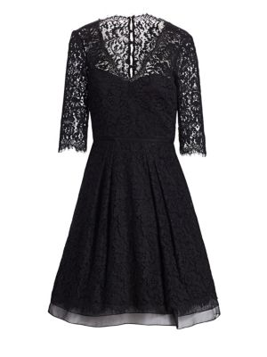 Icon Collection Floral Lace Dress