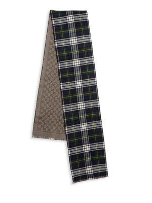 Sambi Reversible Wool Scarf