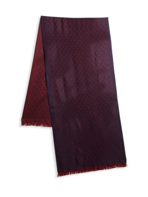 New Sten Jacquard Wool Scarf