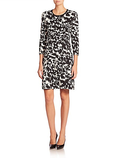 Burberry Len Jacquard Dress