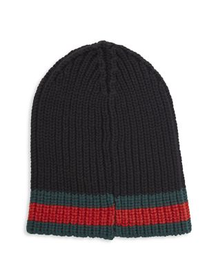 Charui Striped Wool Hat
